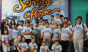 Low Income Family Kids Summer Camp Downtown Los Angeles